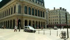 Opera de Lyon (1) - Lyon France Stock Footage