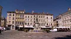 Place Saint-Epvre - Nancy France Stock Footage