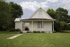 American Gothic House - stock photo