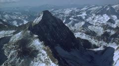 Aerial, Capital Peak Stock Footage