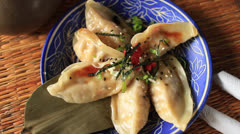 Dumplings - stock footage