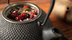 Eight Treasures Tea Stock Footage