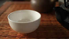 Tea Pouring Stock Footage