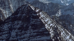 Aerial,  Mountains Stock Footage