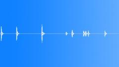 Large dog barking in distance - sound effect