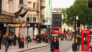 Stock Video Footage of People Walking at Piccadilly Circus, Central London HD