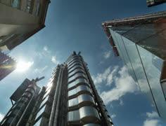 Lloyds building4k01 Stock Footage