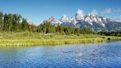 Grand Teton's Wyoming, USA Stock Footage