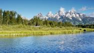 Stock Video Footage of Grand Teton's Wyoming, USA