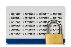 Stock Photo of secure of internet banking