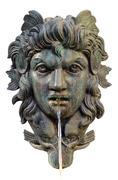 Ornate Mythological Fountain Stock Photos