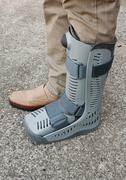 Soft cast footwear Stock Photos
