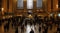 Grand Central Terminal Station NYC, Busy People Commuters Morning go to work Footage