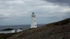 Cape Spear Newfoundland Stock Footage
