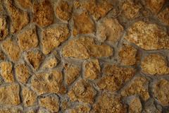 stone wall - stock illustration