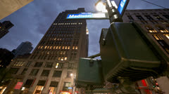 New york street timelapse 110513 4K Stock Footage