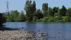 River bend Stock Footage