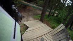 Stock Video Footage of Helmetcam dh8