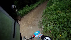 Helmetcam dh7 - stock footage