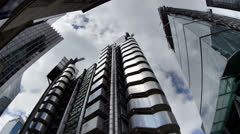 Lloyds building london england Stock Footage
