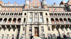Saint Marys Hospital London Stock Footage