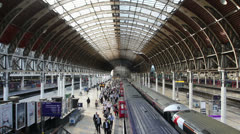 Paddington Station Stock Footage