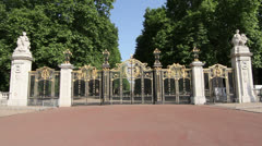 Canada Gate, Green Park, Stock Footage