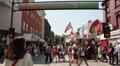 London Street Market HD Footage