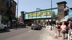 Camden Lock, Camden Town, London, England Stock Footage