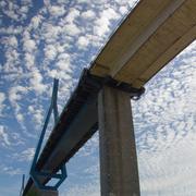 Bridge in the Sky - stock photo