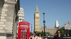 Parliament Square, Westminster, London Stock Footage