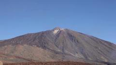 Tenerife - Teide volcano landscape Stock Footage