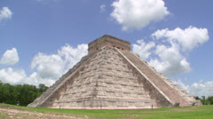 Mayan Ruin of Chichen Itza Time Lapse - stock footage