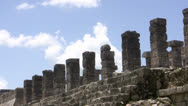 Mayan Ruin of Chichen Itza Time Lapse Stock Footage