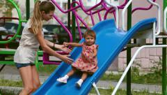 Playground fun Stock Footage