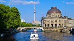 Bode museum Berlin, Germany Stock Footage