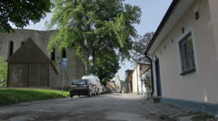 Visby Stock Footage