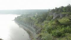 Coastline on Gotland Stock Footage