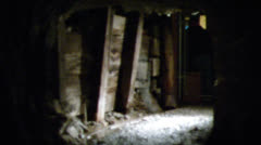 Mine shaft Stock Footage