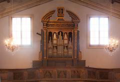 Chgurch organ Stock Photos