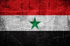 flag of yemen - stock illustration