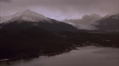Aerial, Mountains, Juneau Stock Footage