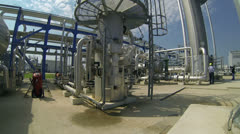 Underground Storage of Natural Gas Stock Footage