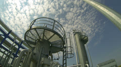 Petrochemical Plant Stock Footage