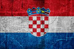 Stock Illustration of flag of croatia