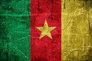Stock Illustration of flag of cameroon