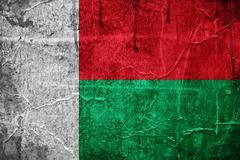 Stock Photo of flag of madagascar