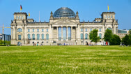 Stock Video Footage of Reichstag in Berlin, Germany