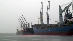 Cargo Ships, Freighters, Container Ships, 2D, 3D Stock Footage