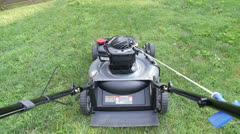 Lawn Mower - stock footage